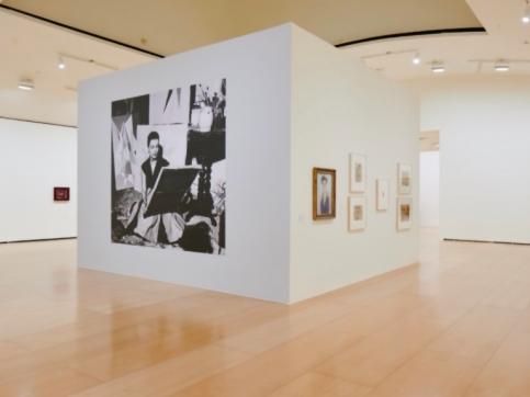 Installation view of Lygia Clark exhibition