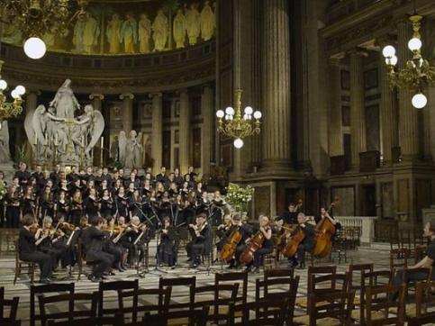 Orchestra in church