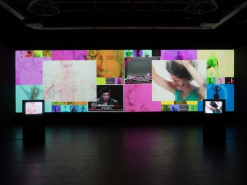 Atlas video installation