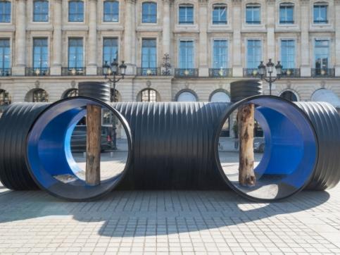 Tuazon Water Column at Place Vendome, Paris