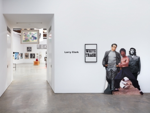 Larry Clark exhibition photo