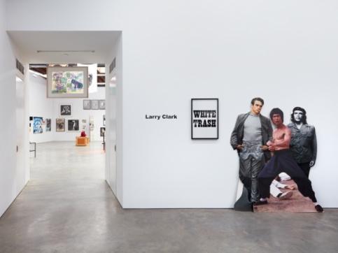 Larry Clark exhibition photo