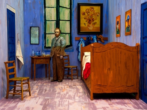 Morimura Van Gogh room