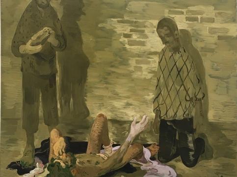 Toor painting 3 men