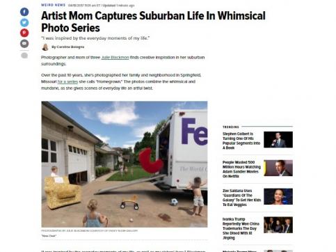 Julie Blackmon - Artist Mom Captures Suburban Life In Whimsical Photo Series - The Huffington Post