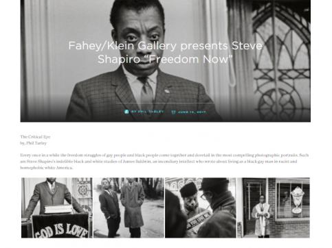 "Fahey/Klein Gallery Presents Steve Schapiro ""Freedom Now"" - Fabrik"