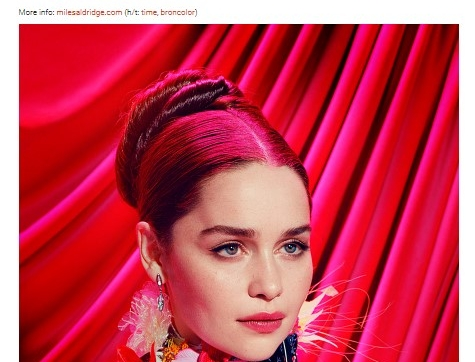 Miles Aldridge - Game Of Thrones Characters Like You Haven't Seen Before In A Psychedelic Photo Shoot - Bored Panda