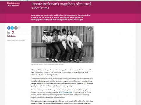 Janette Beckman's Snapshots of Musical Subcultures - The Guardian