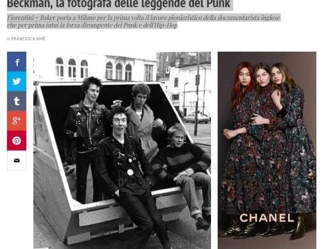 Janette Beckman - Extraordinary Rebels: a Milano la mostra su Janette Beckman, la fotografa delle leggende del Punk: IO Donna