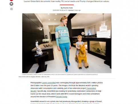 Lauren Greenfield - Photographer Spent 25 Years Documenting Our Absurd Obsession With Wealth - The Huffington Post