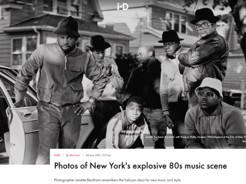 Janette Beckman - Photos of New York's explosive 80s music scene