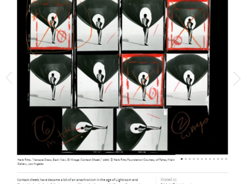 CONTACT - The Art of the Contact Sheet - PDN