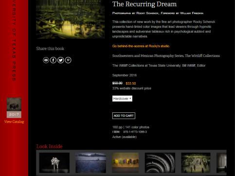 Rocky Schenck: The Recurring Dream - UT Press