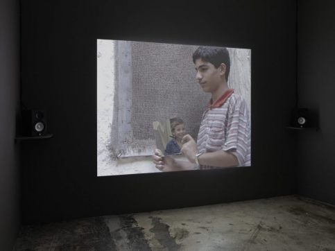akram zaatari participate in turner contemporary - inglaterra with the script