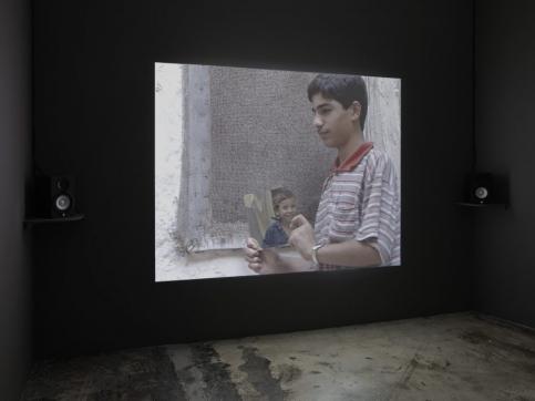 akram zaatari participate in turner contemporary - inglaterra with the script