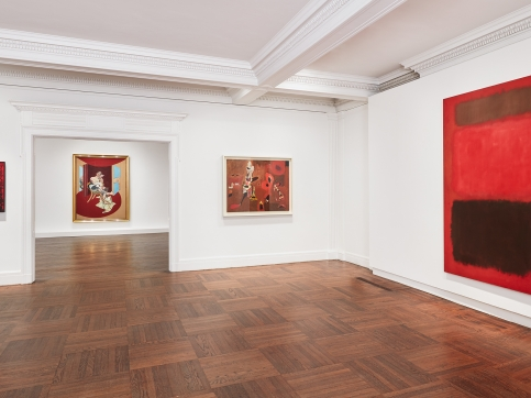 Reds Exhibition Installation View