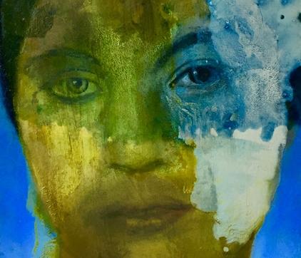 Susan Moore, Sub Rosa, Oil On Canvas
