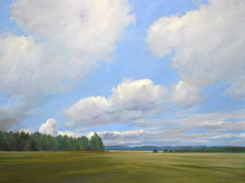 Douglas Martenson, Transience, Oil On Canvas