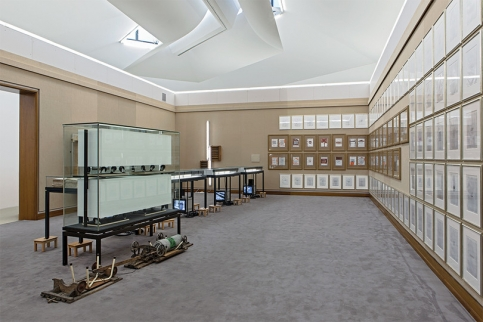 Mucha installation at Kunstmuseum Basel