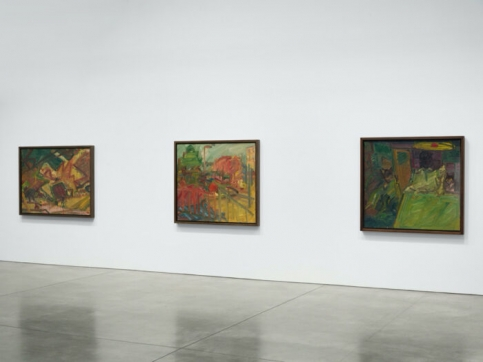 3 Auerbach paintings