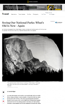 Ian Ruhter: Seeing Our National Parks: What's Old Is New—Again