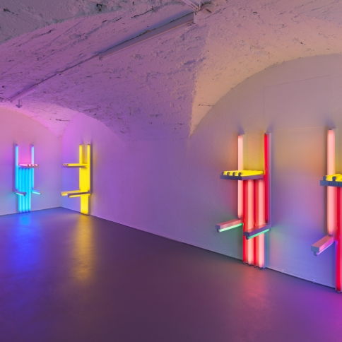 Light Installations Which Transform Space and Perception