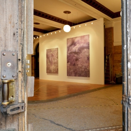 A Look Inside Vito Schnabel's Bowery Bank Show