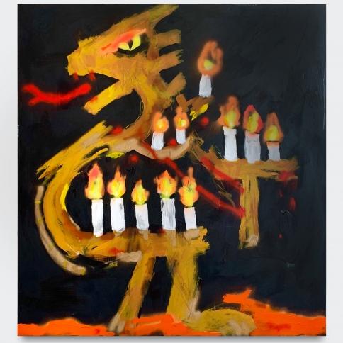 Robert Nava, Candle Dragon, 2019