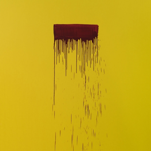 Pat Steir, Color Wheel, 2019, oil on canvas, 274 × 213 cm.