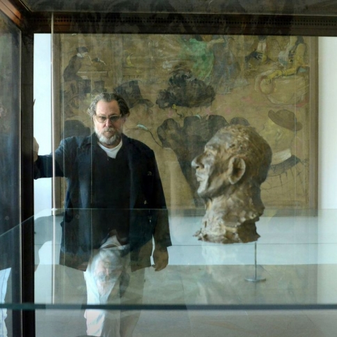 Artist Julian Schnabel explores Van Gogh on film and in a new museum show