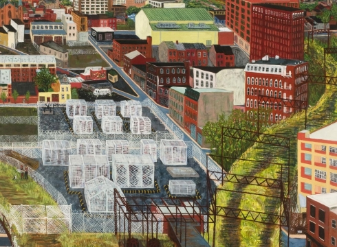 Sarah McEneaney: Hidden City