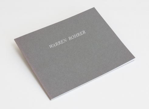 Warren Rohrer: New Paintings
