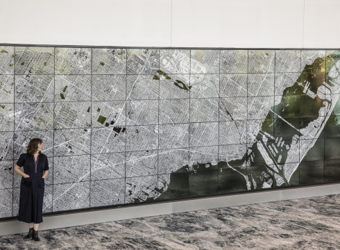 "Ellen Harvey—""Atlantis"" at the Miami Beach Convention Center"