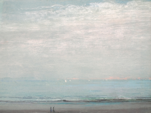 LEON DABO (1864-1960), Seascape, c 1900