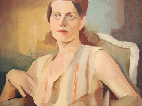 BETTY LANE (1907-1996), Woman in Chair, 1929