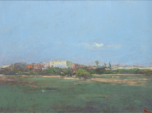TERRY DELAPP (1934-2020), Hotel Guadalupe - Large, 2003