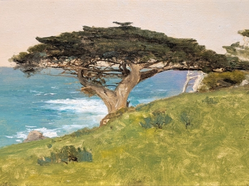 "LOCKWOOD DE FOREST (1850-1932), ""Point Lobos""  Veteran Tree (Monterey), January 29, 1911"