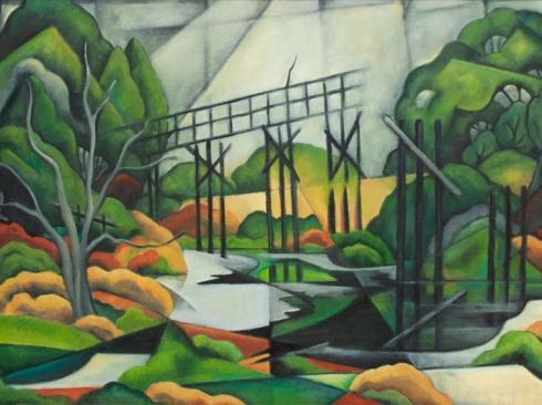 ANGELA PERKO, The Bridge to Nowhere, 2020