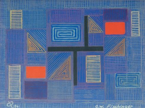 OSKAR FISCHINGER (1900-1967), Abstraction 556, 1961