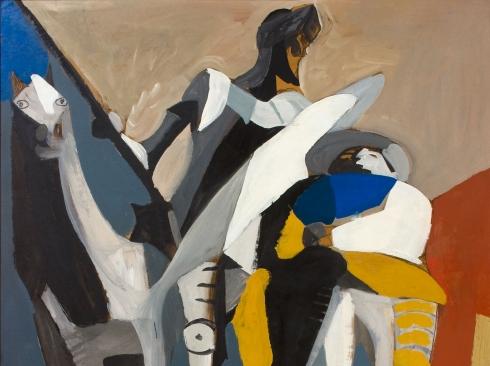 CHANNING PEAKE (1910-1989), Don Quixote & Panza, 1959
