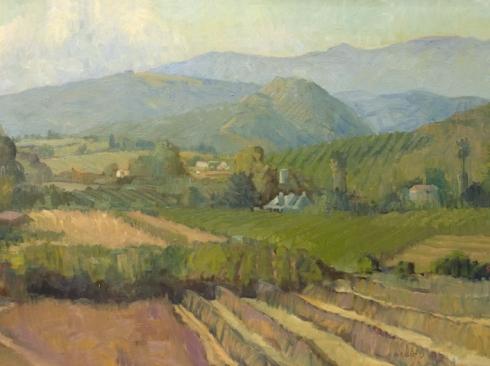 MEREDITH BROOKS ABBOTT, Field and Hills,