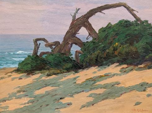 ROI CLARKSON COLMAN (1884-1945), Costal, c. 1930