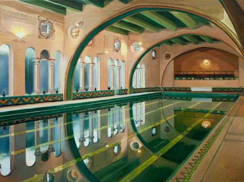 PATRICIA CHIDLAW , Pool, Berkeley, City Club 2, 2020