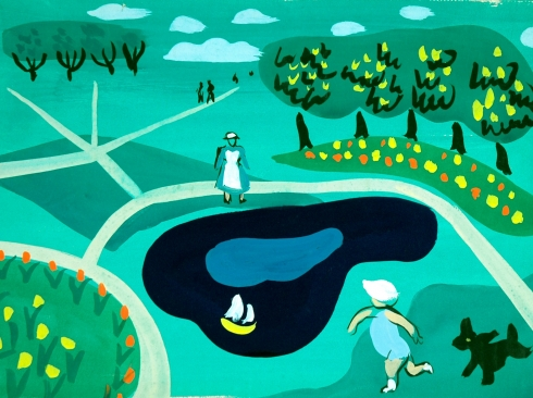 BETTY LANE (1907-1996), Regent's Park, 1932