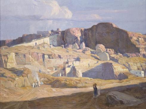 CARL OSCAR BORG (1879-1947)