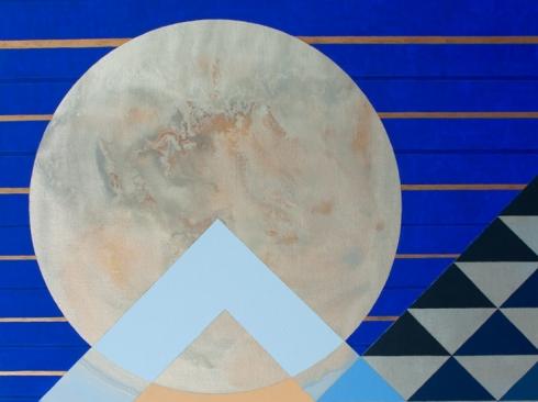 JULIKA LACKNER, Blue Moon I, 2020