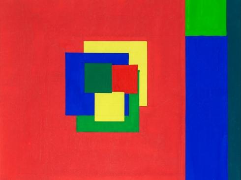 OSKAR FISCHINGER (1900-1967), Square #12695, 1934