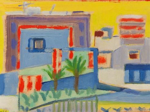 WERNER DREWES (1899-1985), Habitable Cubes, 1949