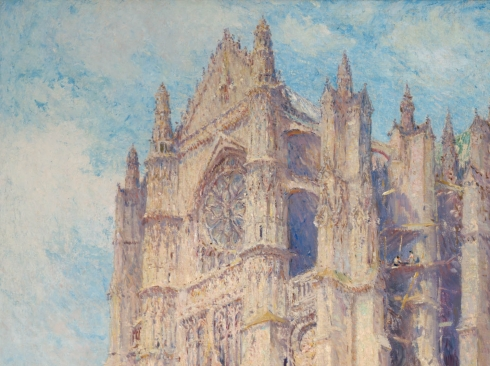 COLIN CAMPBELL COOPER (1856-1937), Beauvais Cathedral, c. 1912-1926
