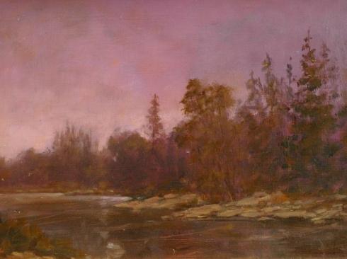 BJORN RYE (1942-1998), Morning Fog